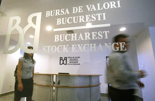 Bursa de la Bucureşti are a doua cea mai mare creştere din Europa de la începutul anului, plus 8%, după Italia cu 8,7%