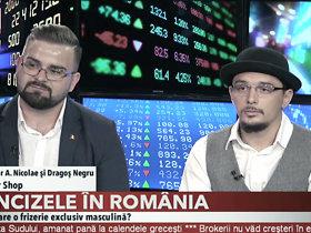 ZF LIVE. Alexandru Ghior şi Dragoş Negru, The Barber Shop: Avem un business de 63.000 de euro, iar investiţia iniţială a fost de 8.000 de euro