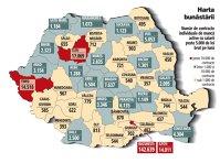 Topul judeţelor cu cel mai bine plătiţi salariaţi. Aproape 60.000 de angajaţi români au salarii de peste 10.000 de lei brut pe lună. Peste două treimi din ei lucrează în Bucureşti