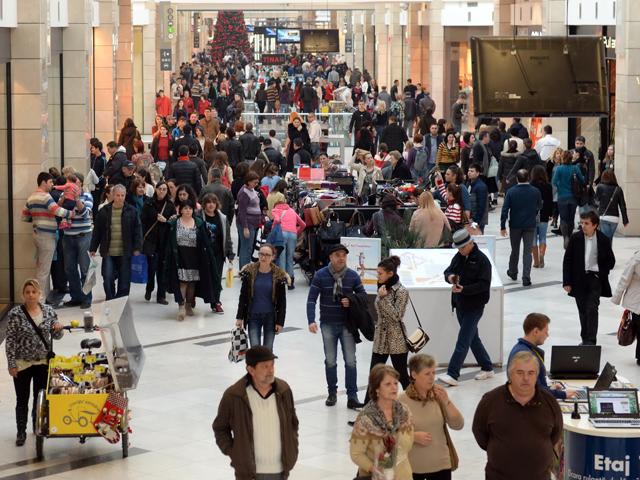 """Bucureştiul ajunge anul viitor la un milion de metri pătraţi de malluri. """"Volumul(...)"""