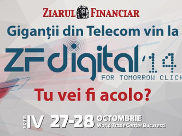ZF Digital '14: peste 30 de speakeri vorbesc despre viitorul �n IT&C