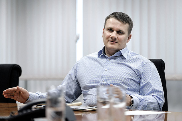 Marco Hössl este CEOal Kaufland România de la începutul lui 2015, anterior lucrând circa 10 ani pentru grupul Schwarz, proprietarul Kaufland. Fotograf: Andreea Alexandru