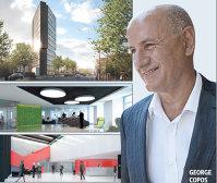 Copos va construi clădirea de birouri Ana Tower cu austriecii de la Strabag. Sunt român şi investesc în România