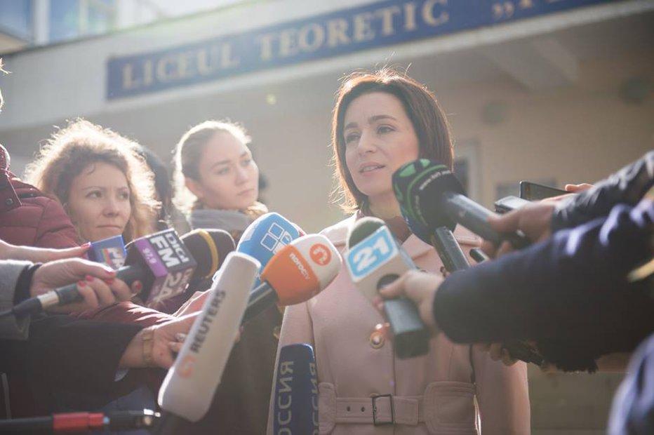 """INTERVIU EXCLUSIV cu Maia Sandu: """"În Republica Moldova se construieşte acum o verticală a puterii pe model putinist"""""""
