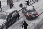VIDEO. Cum a fost evitat un accident în Rusia