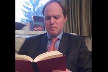 VIDEO INEDIT. Ambasadorul britanic recită în română, de ziua lui Eminescu, poezia