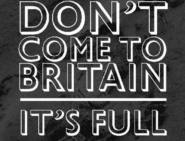 GALERIE FOTO. Propunerile britanicilor pentru campania împotriva imigraţiei românilor