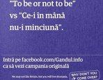 """GALERIE FOTO. Afişele făcute de cititorii Gândul în campania """"Why don't you come over?"""". Felicitările noastre românilor inteligenţi!"""