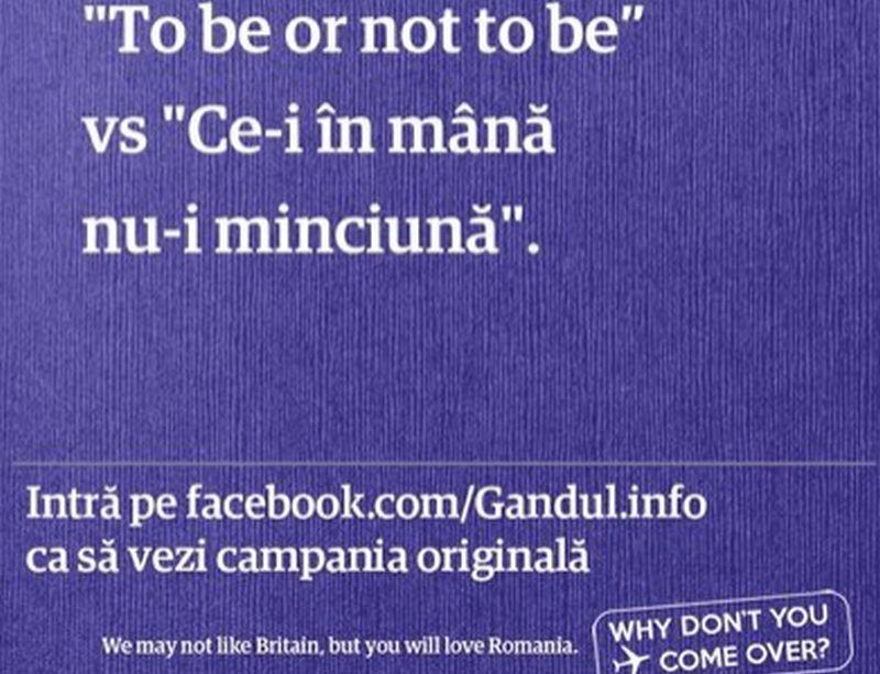 GALERIE FOTO. Afişele făcute de cititorii Gândul în campania