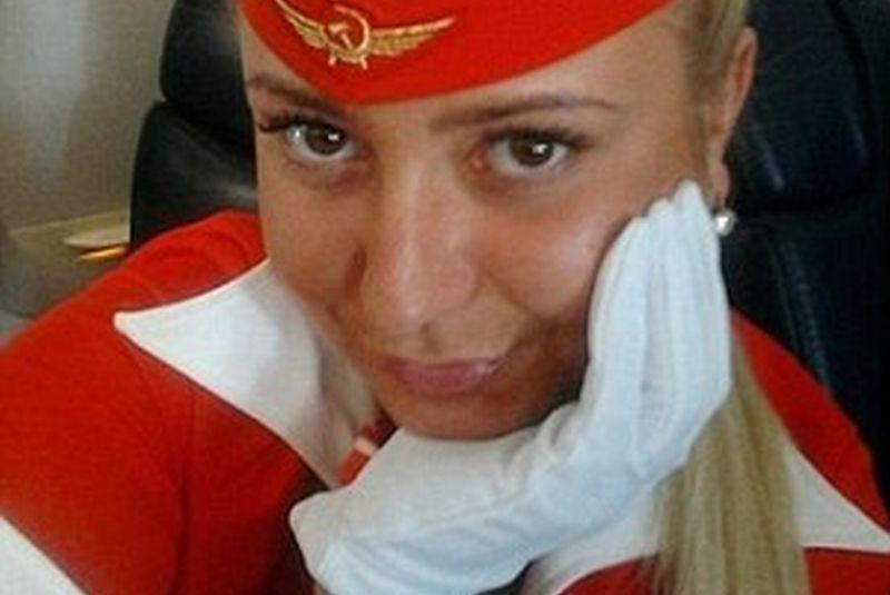 Fotografia pentru care această stewardesă a fost dată afară