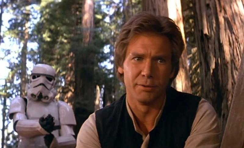 Harrison Ford redevine personajul Han Solo în