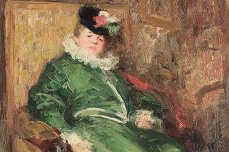 Un tablou celebru al lui Nicolae Grigorescu, dispărut în anii '50, a fost descoperit în sudul Franţei