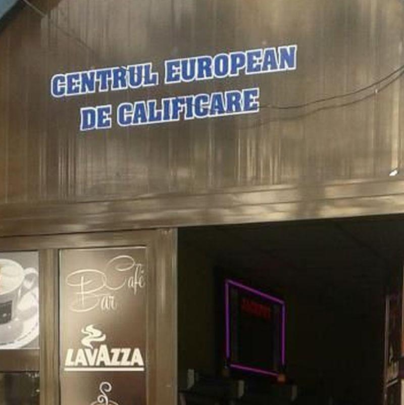 """FOTO: Cum arată un """"centru european de calificare"""" din România"""