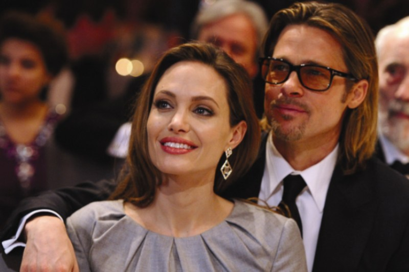 Cadoul de nunta primit de Angelina Jolie si Brad Pitt
