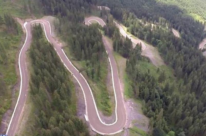 Un nou drum montan inaugurat în România. IMAGINI spectaculoase