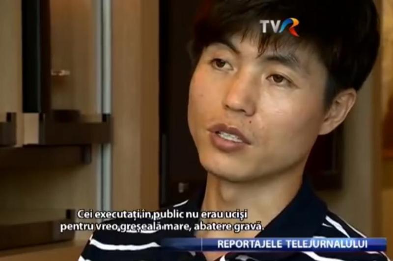 Coreea de Nord denunta, la Bucuresti, un interviu realizat de jurnalistul Adelin Petrisor cu un fost detinut din tara lui Kim Jong-un