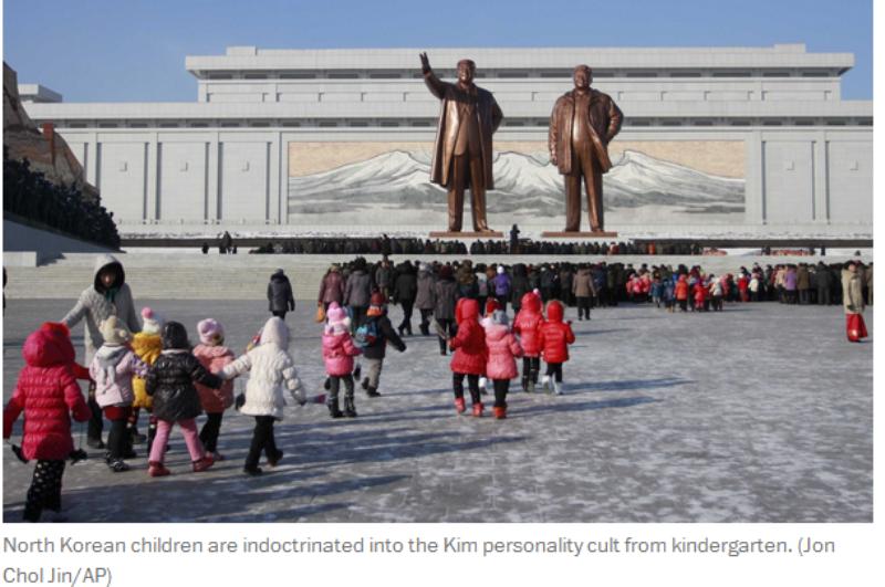 De unde cred copiii din Coreea de Nord ca vine laptele