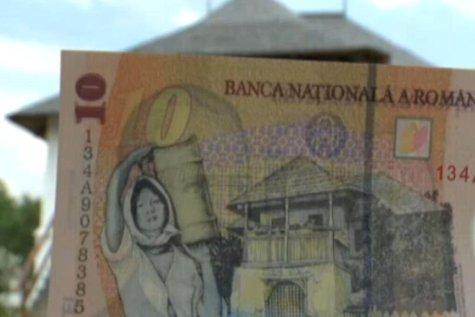 Cum arată în realitate casa de pe bancnota de 10 lei. GALERIE FOTO