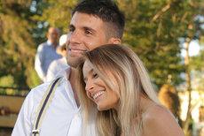 Laura Cosoi s-a căsătorit cu iubitul ei, Cosmin. Cum arată în rochie de mireasă. GALERIE FOTO