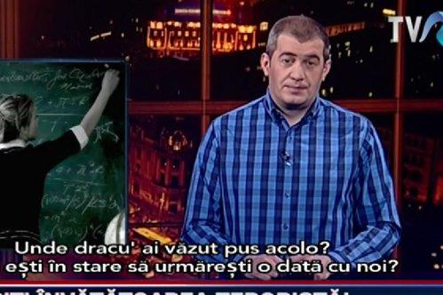 """Condiţia pe care  TVR i-o pune lui Dragoş Pătraru pentru a continua colaborarea. """"E o prostie"""""""
