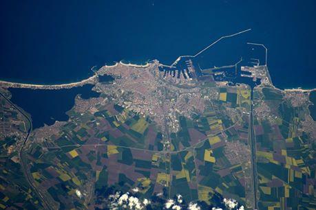 Imagine spectaculoasă cu oraşul Constanţa, fotografiat din spaţiu. Ce l-a impresionat pe astronautul britanic