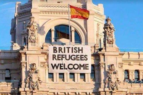"""""""Refugiaţi britanici, bine aţi venit în Europa!"""" Cele mai bune glume despre Brexit"""