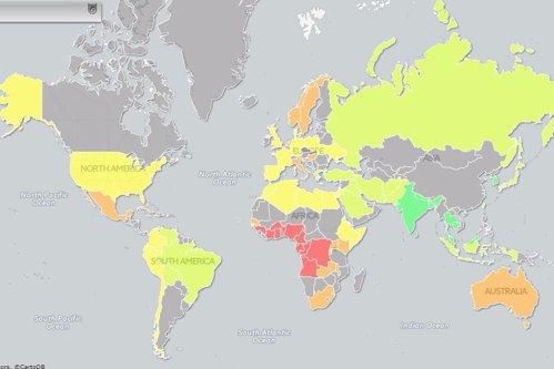 """Harta care îţi arată unde sunt cei mai """"norocoşi"""" bărbaţi"""