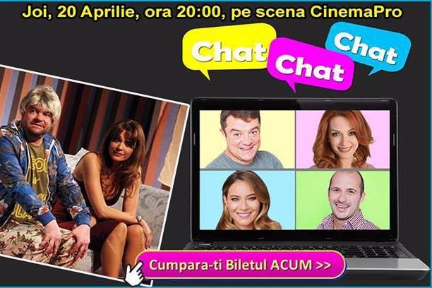 """Comedia """"Chat Chat Chat"""", regizată de Ricard Reguant, la Cinema Pro"""