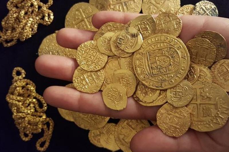 Locul inedit unde a fost descoperită o comoară compusă din 913 monede de aur din secolul al XXI-lea
