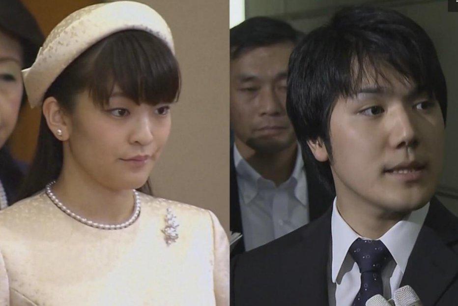 Scenariu de film în Japonia: o prinţesă renunţă la tron în numele iubirii pentru un fost coleg de facultate