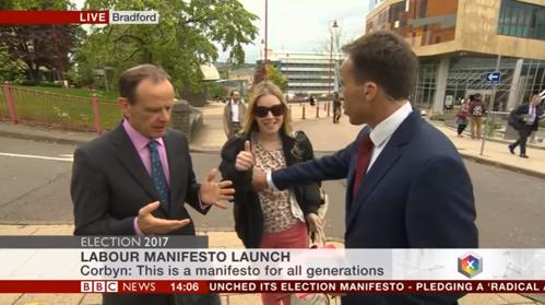 VIDEO. Scene de cascadorii râsului la BBC. După ce a făcut acest gest, reporterul a fost pălmuit în direct