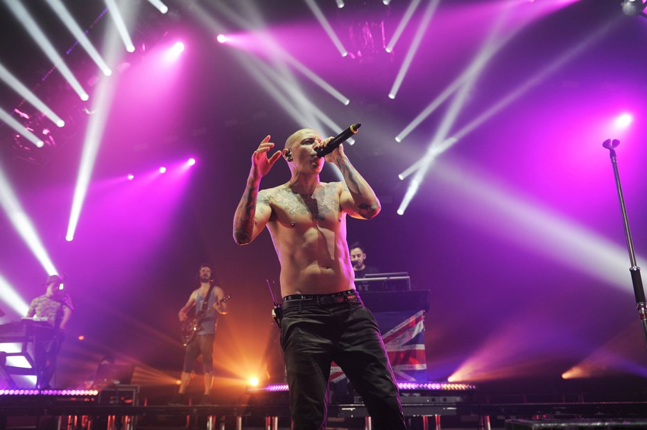 Ultima fotografie cu Chester Bennington, solistul Linkin Park, înainte de a se sinucide
