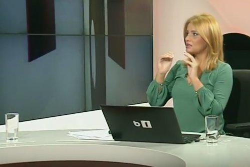 """VIDEO. Momentul în care Palada a sărit să-l bată pe Goţiu în studioul B1 TV. Prezentatoare: """"O scenă pe care nu credeam că o pot trăi într-un platou de televiziune"""""""
