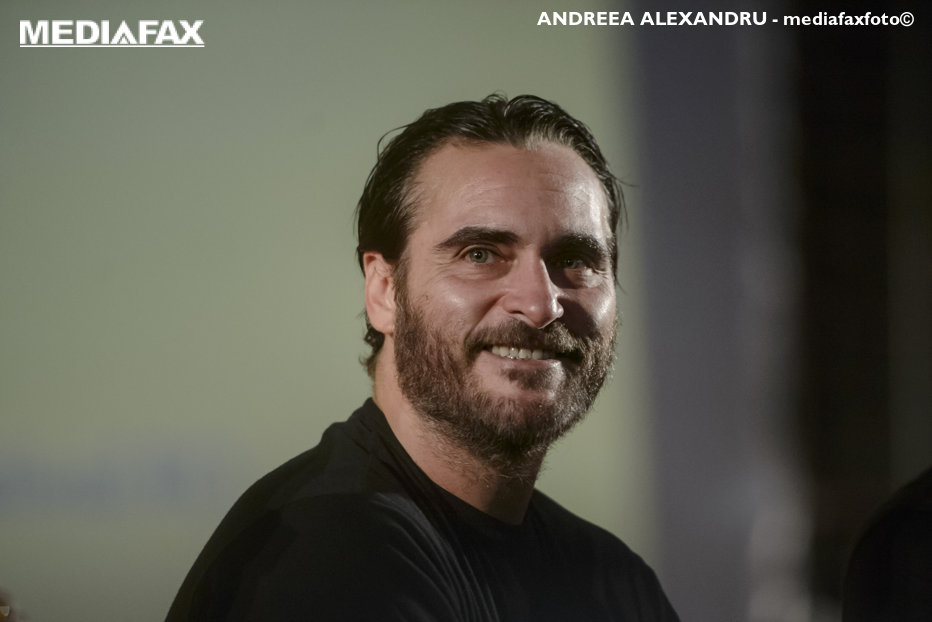 Joaquin Phoenix, prezent în România: Fiecare film în care joc este ca şi cum ar fi primul