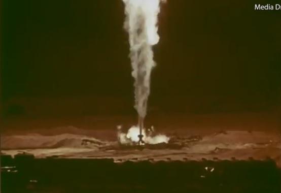 Focul care a putut fi stins doar cu ajutorul unei bombe nucleare. Timp de trei ani flăcările nu s-au oprit. VIDEO
