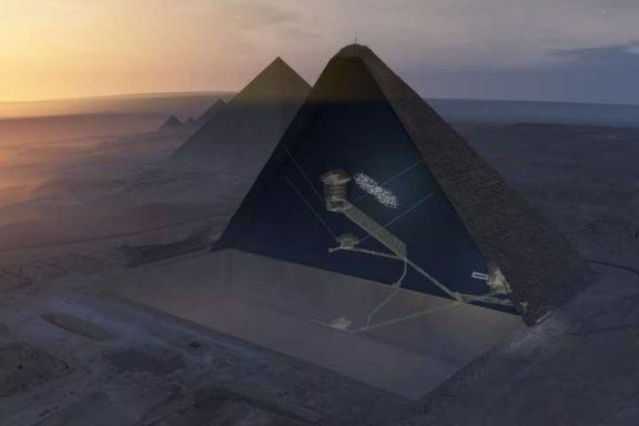 """Camera secretă din Piramida lui Keops, descoperită după 4.500 de ani. """"E atât de mare cât un avion de 200 de locuri"""""""