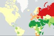 HARTA consumului de alcool la nivel mondial. Surpriza din TOP 10