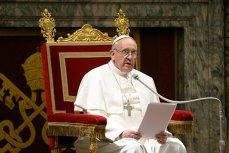 """Papa Francisc: """"Călugăriţele bârfitoare sunt nişte teroriste, o sursă de inspiraţie pentru diavol"""""""
