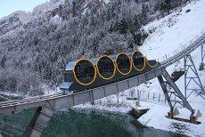 Cum arată cea mai abruptă cale ferată din lume