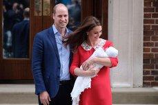 Ducele şi Ducesa de Cambridge au ales numele celui de-al treilea bebeluş regal