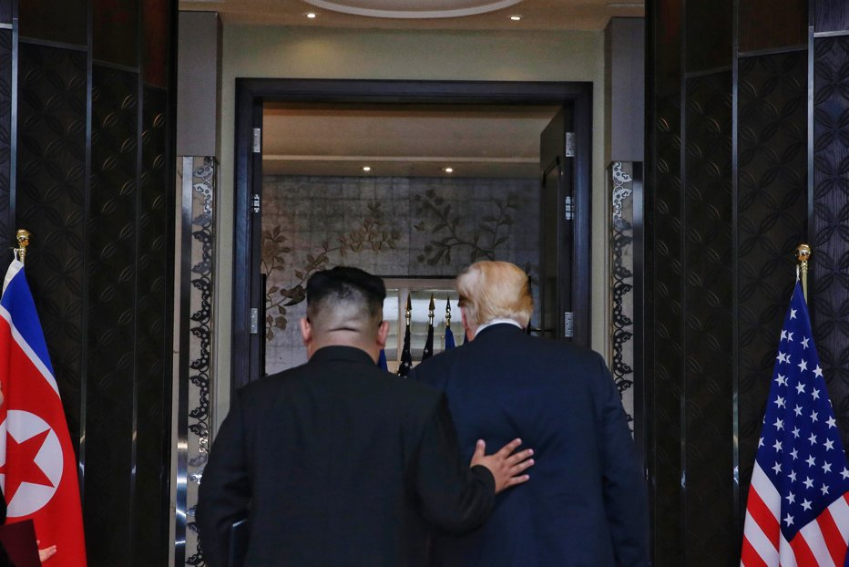 Meniu summit Singapore Donald Trump Kim Jong un