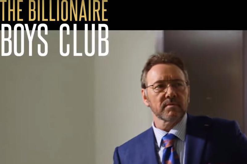 """Kevin Spacey revine pe marile ecrane cu filmul """"Billionaire Boys Club"""""""