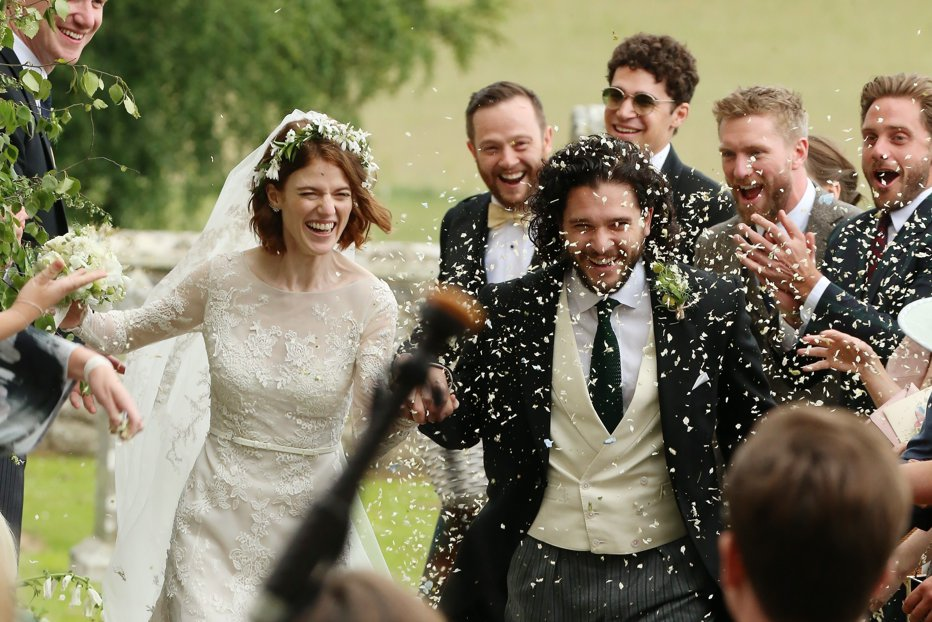 Kit Harington Rose Leslie actori Game of Thrones nunta Jon Snow Ygritte
