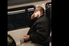 Acest bărbat s-a BĂRBIERIT în vagonul unui tren şi un călător l-a filmat pentru a râde de el. Ce secret ascundea însă ANIMALUL Anthony
