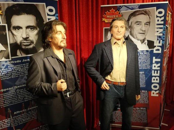 Al Pacino și Robert de Niro din ceară