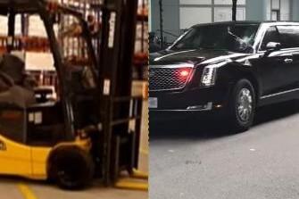 Un bărbat din SUA a recunoscut că a vrut să RĂSTOARNE limuzina prezidenţială cu un MOTOSTIVUITOR, pentru a-l UCIDE pe Donald Trump