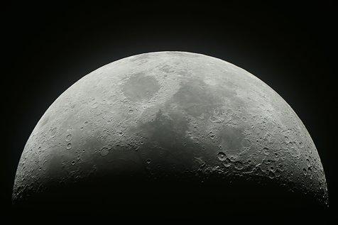 Imaginile zilei: China a făcut publice primele fotografii PANORAMICE de pe partea NEVĂZUTĂ a Lunii