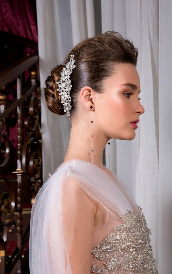 Coafurile de mireasa în 2019. Adrian Perjovschi, hairstylist Vor exprima naturaleţe şi romantism