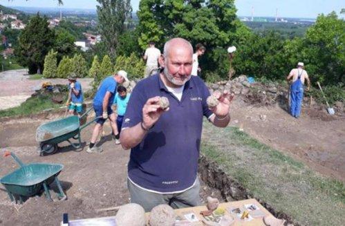 Ghiulele trase din culverinele armatei lui Vlad Ţepeş, descoperite în Bulgaria