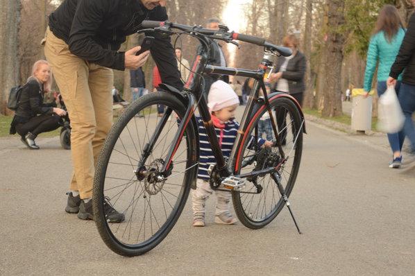 bicicletă din bambus